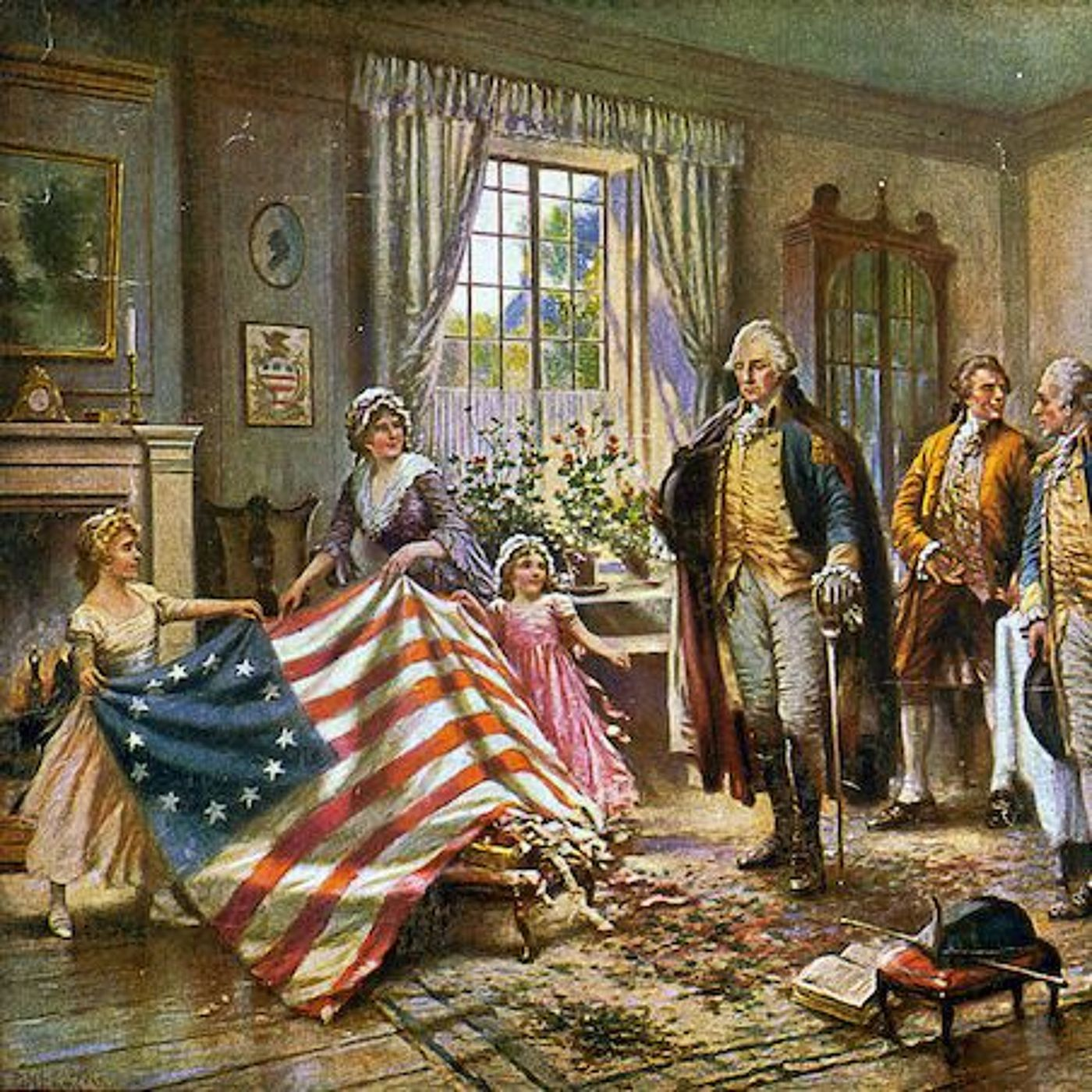 34: The First American Flag