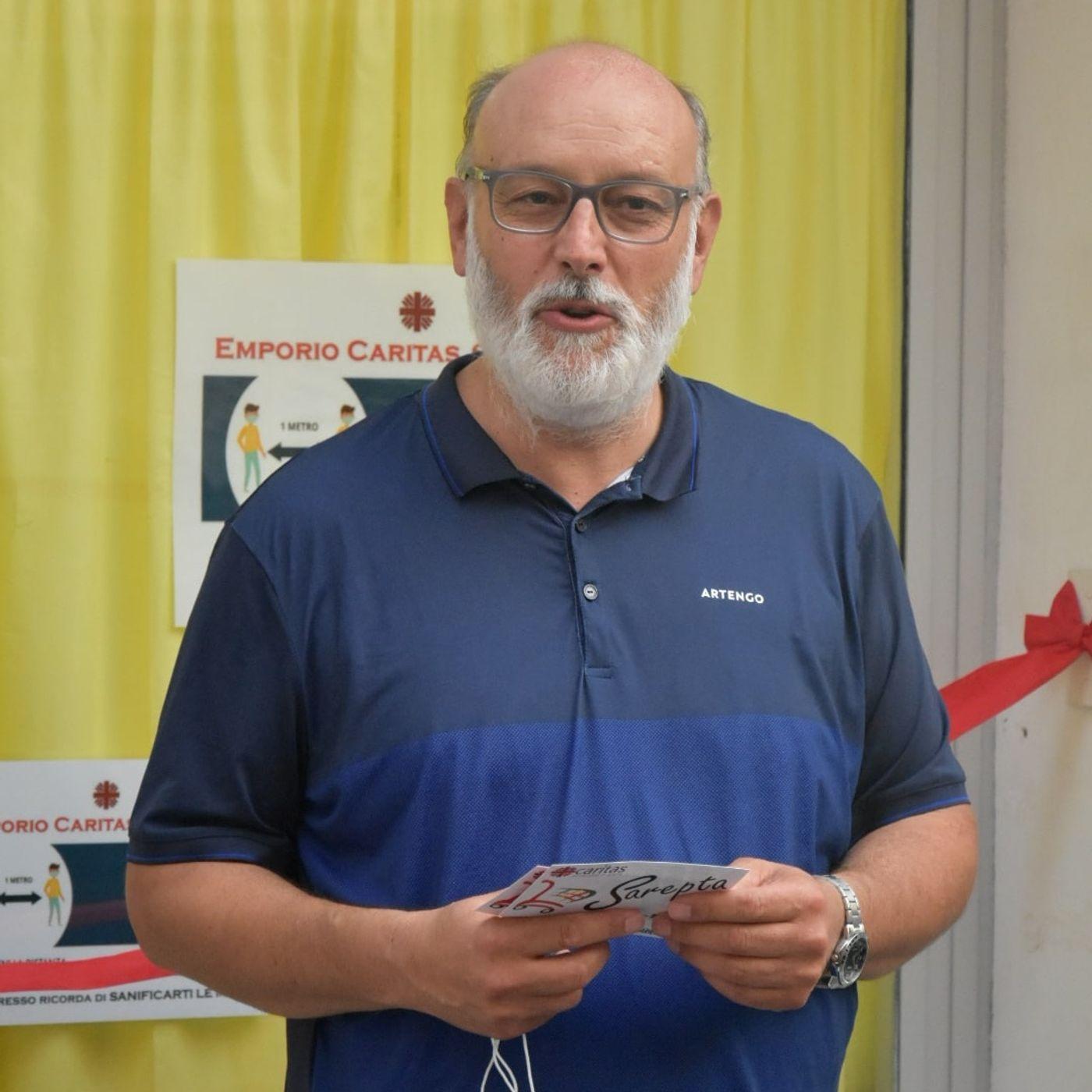 Emporio Caritas a Formia - Le parole di Don Alfredo Micalusi