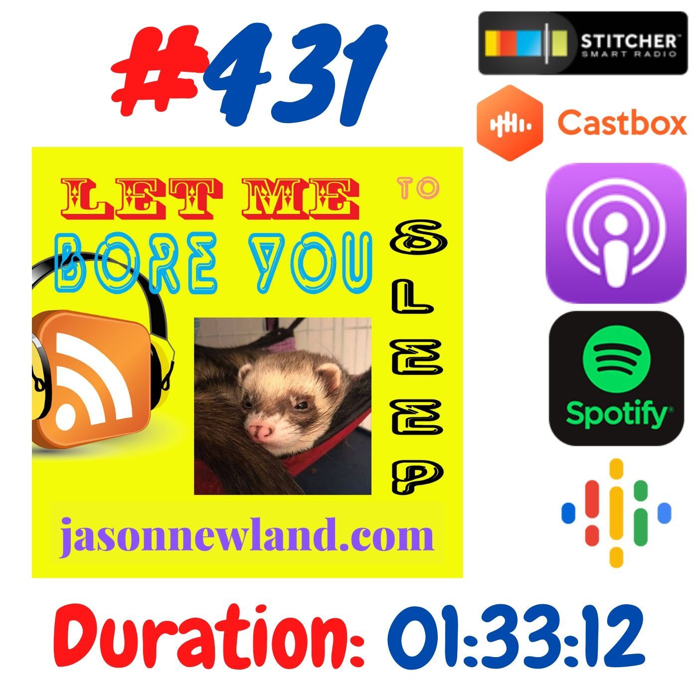 #431 Let me bore you to sleep - Jason Newland (17th June 2020)