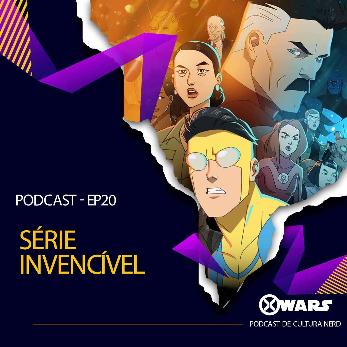 XWARS #20 Série Invencível