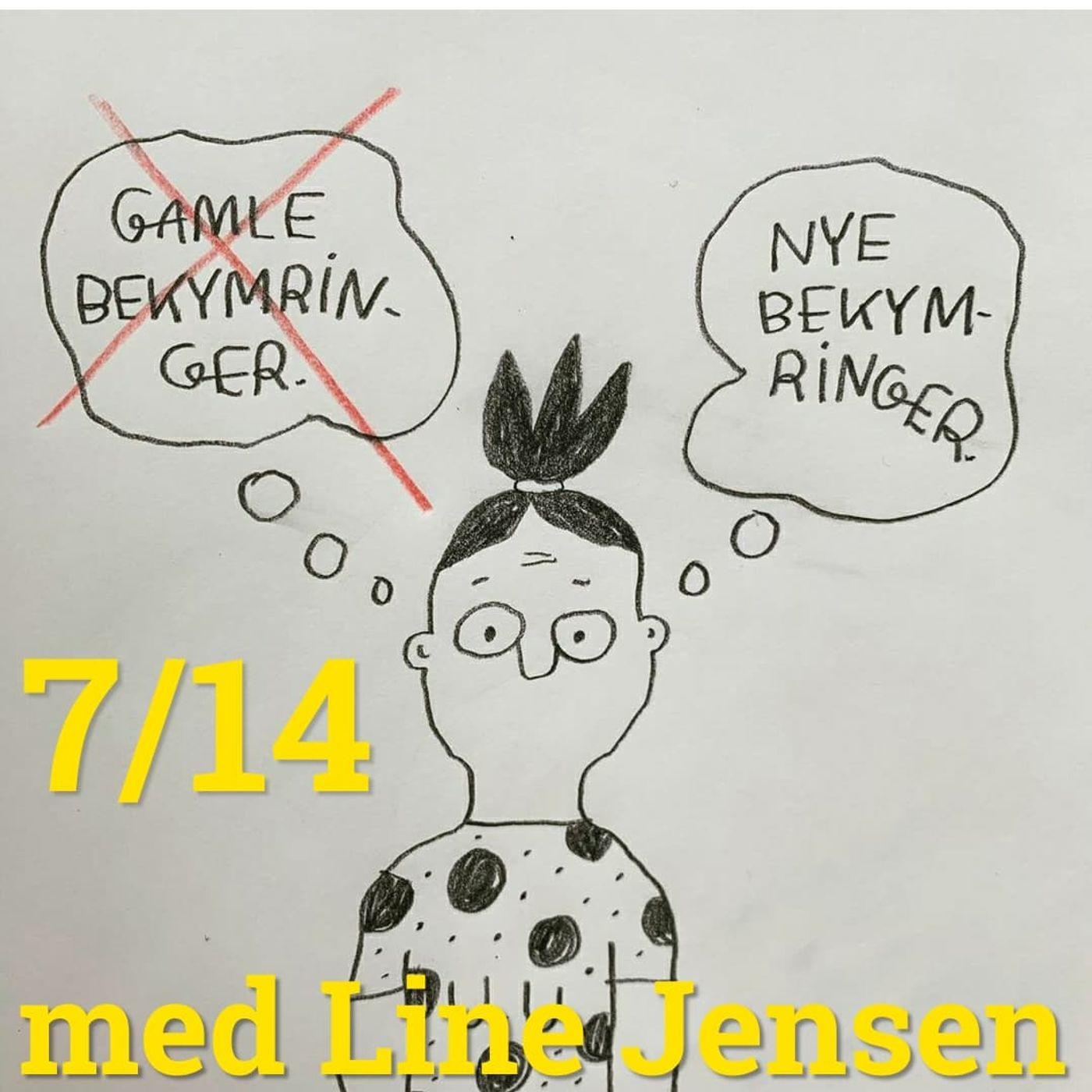 Karantæne dag 7 - med Line Jensen & Michael Graversen