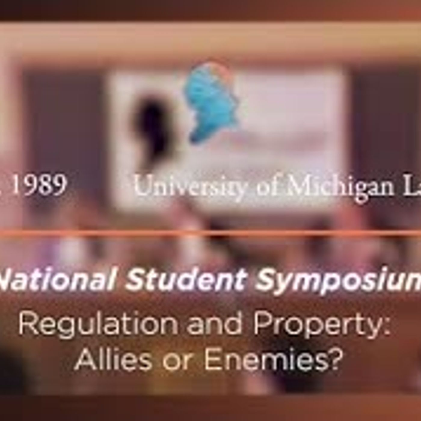 Panel III: Regulation and Property: Allies or Enemies? [Archive Collection]