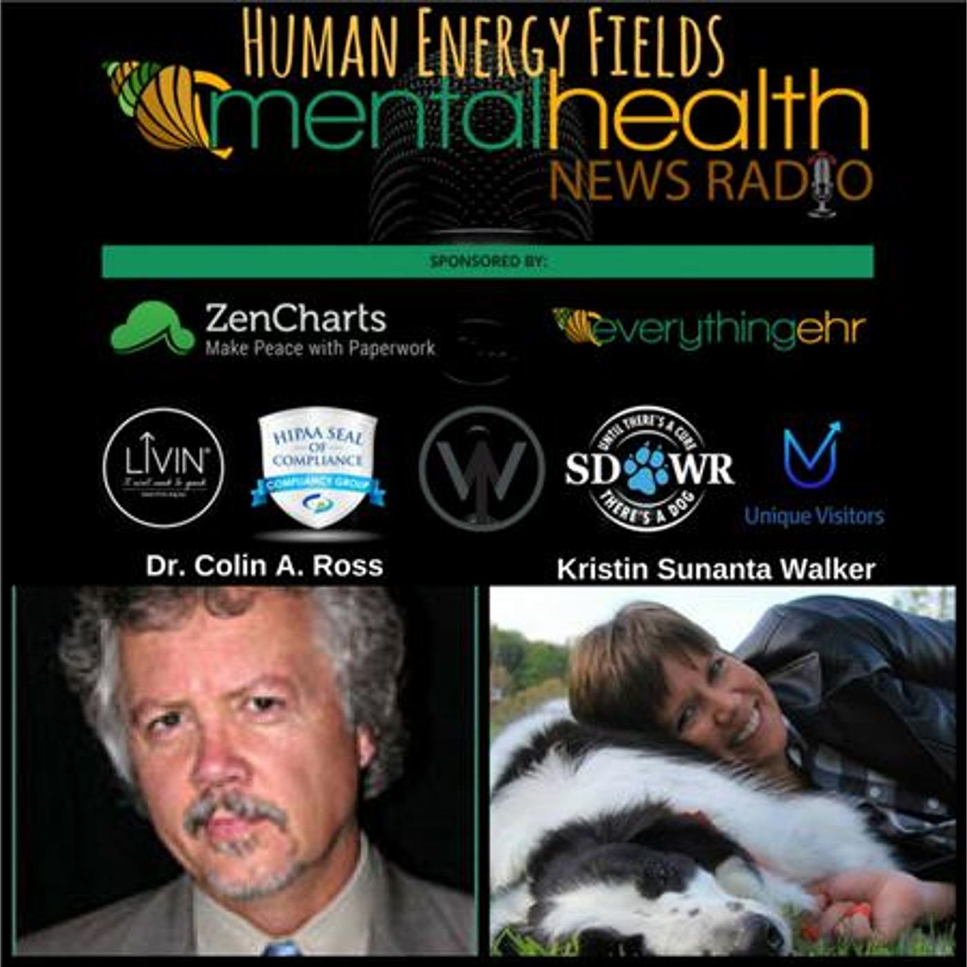 Mental Health News Radio - Human Energy Fields with Colin A. Ross, M.D.