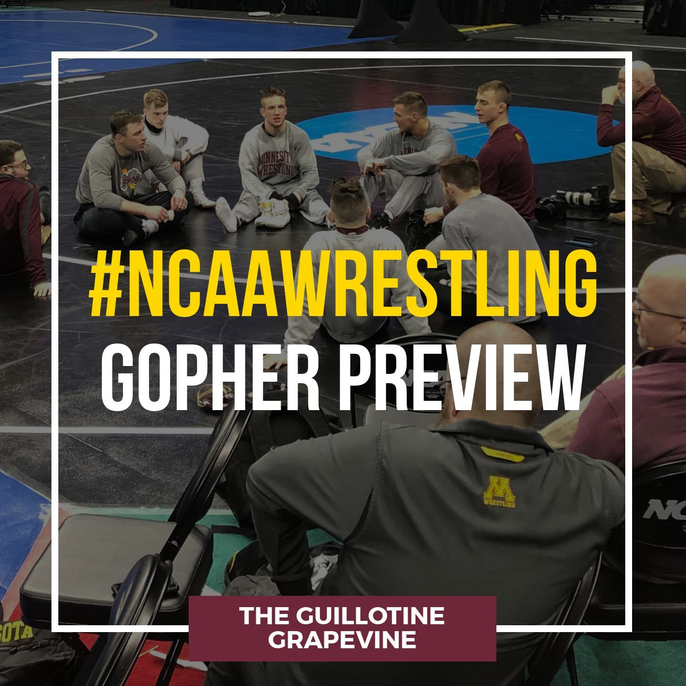 Gopher Wrestling NCAA Preview with head coach Brandon Eggum - GG55