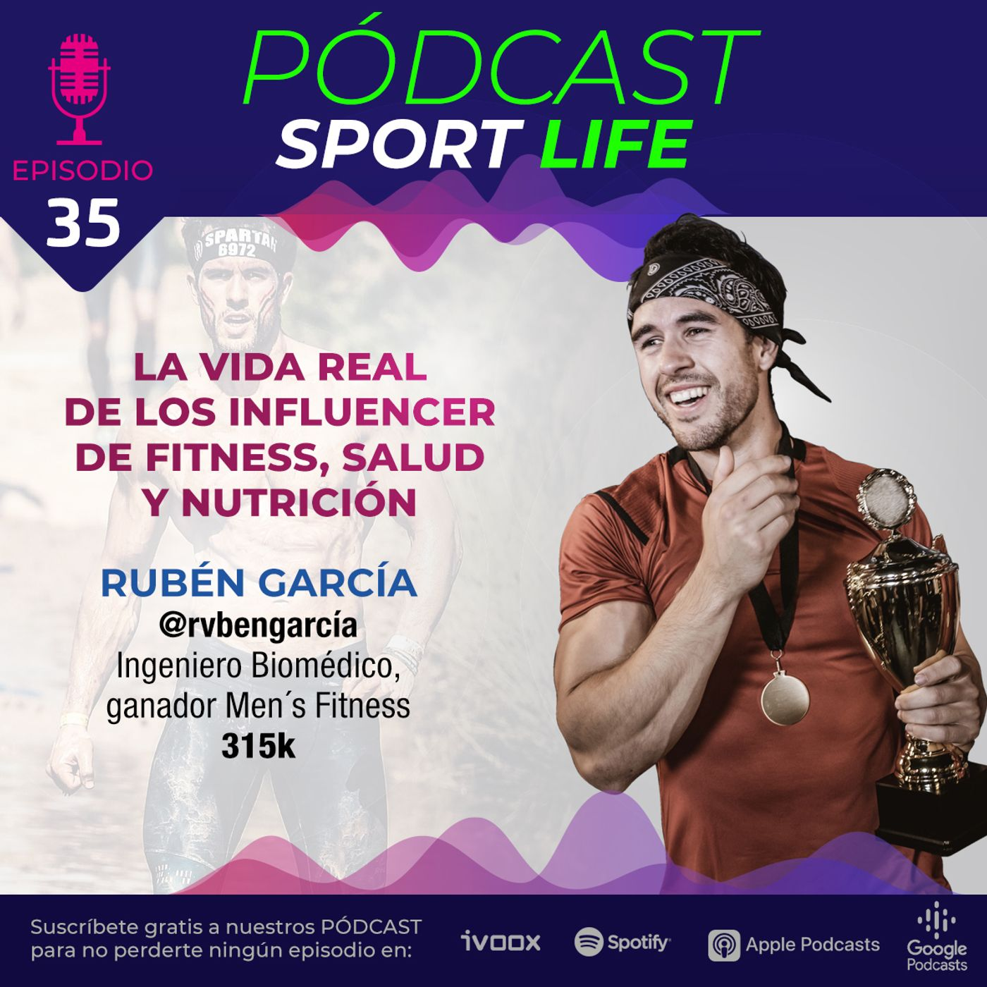 La vida real del influencer de fitness Rubén García (@rvbengarcia)