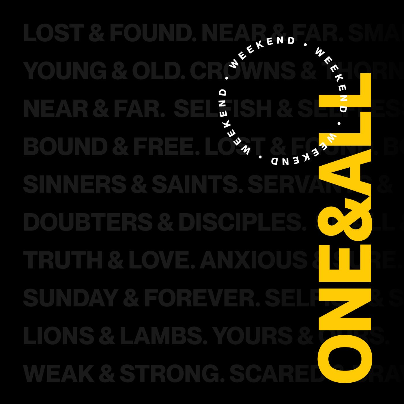 ONE&ALL Weekend Podcast