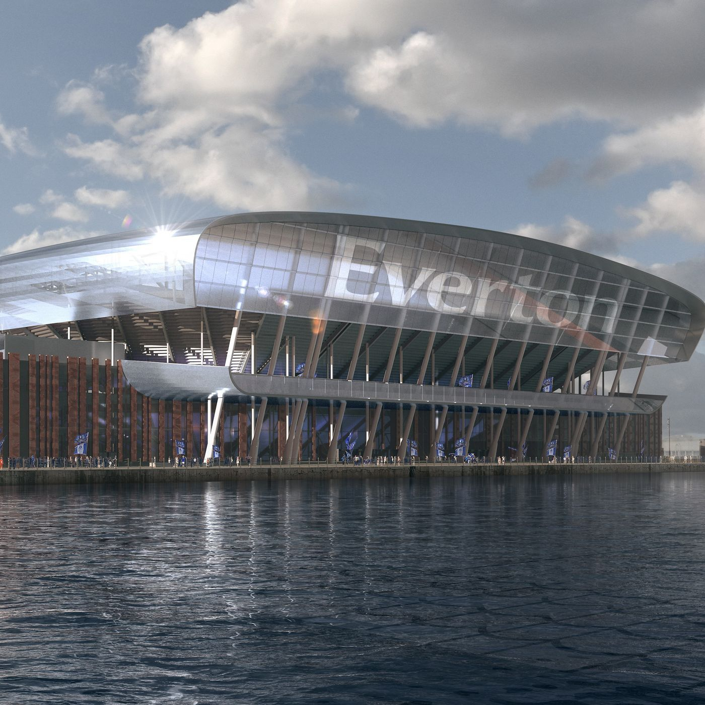 Royal Blue: Bramley-Moore dock stadium planning takes next step, Everton's commitment to the community - and that result against Fulham