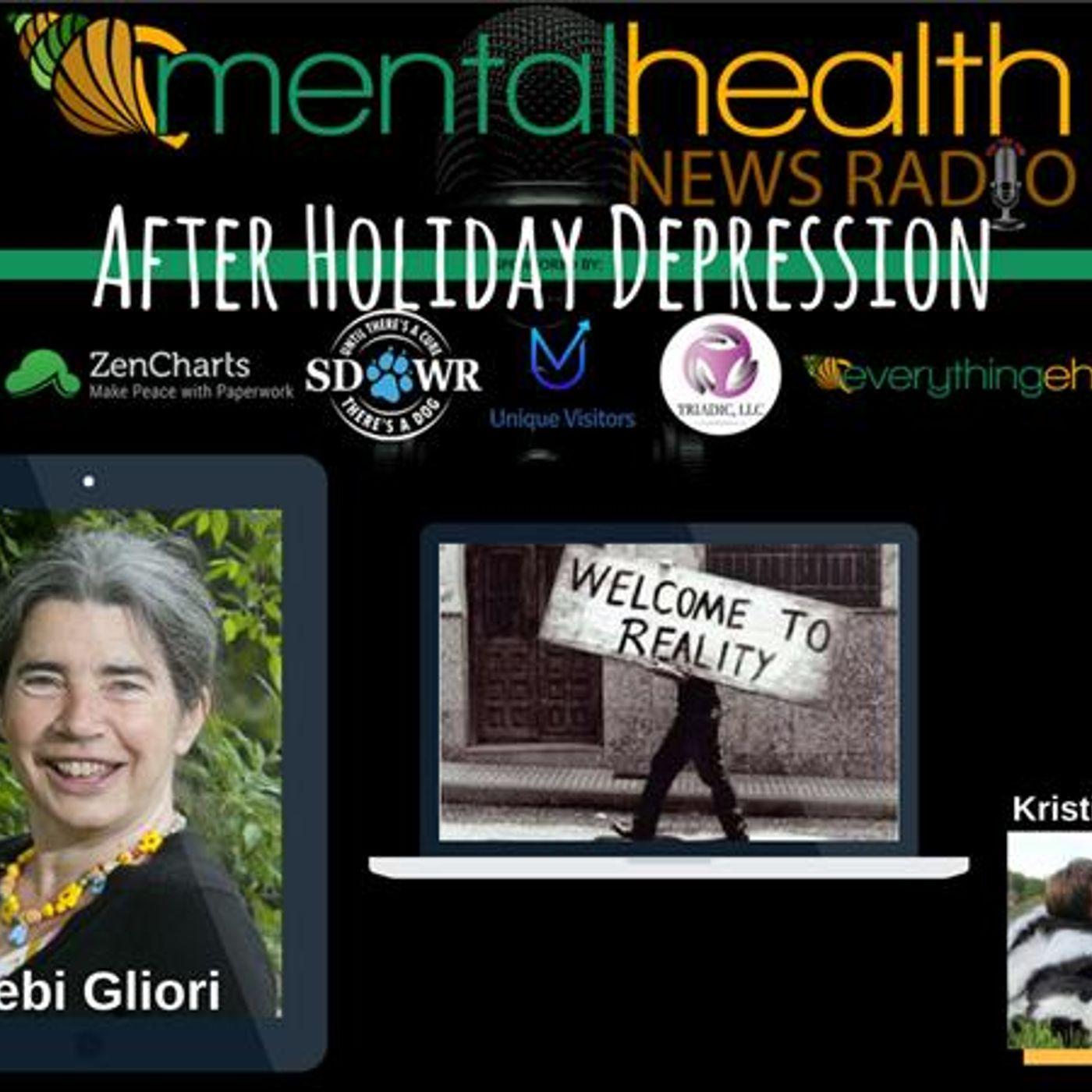 Mental Health News Radio - After Holiday Depression with Author Debi Gliori