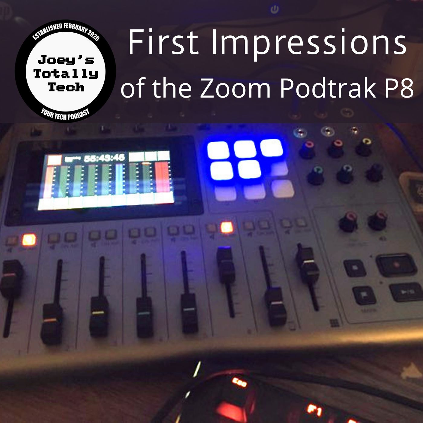 First Impressions of the Zoom Podtrak P8
