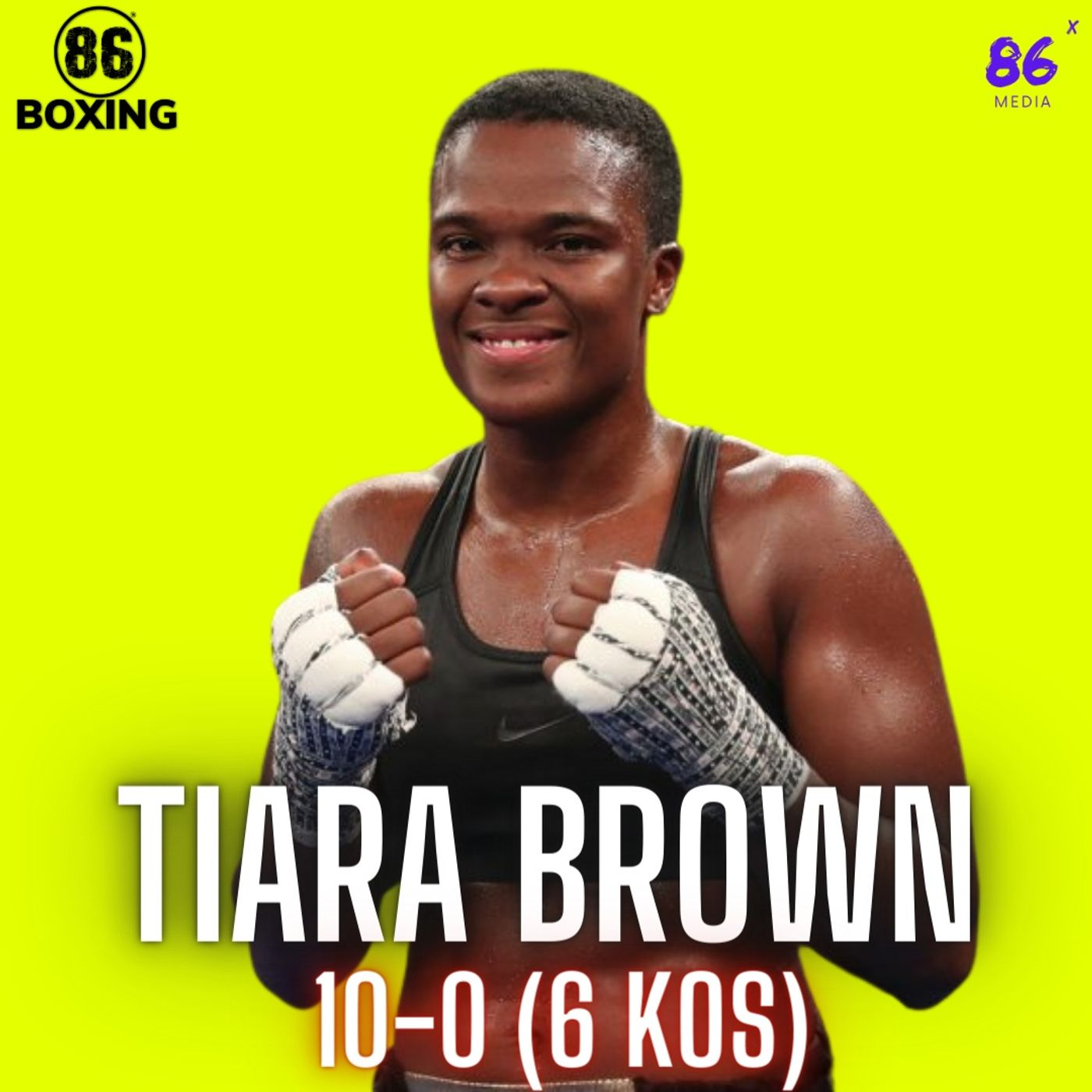 86Boxing E28: Tiara Brown - Exclusive Interview on Boxing, Life, Spirit, DC, Florida, & Community #86boxing