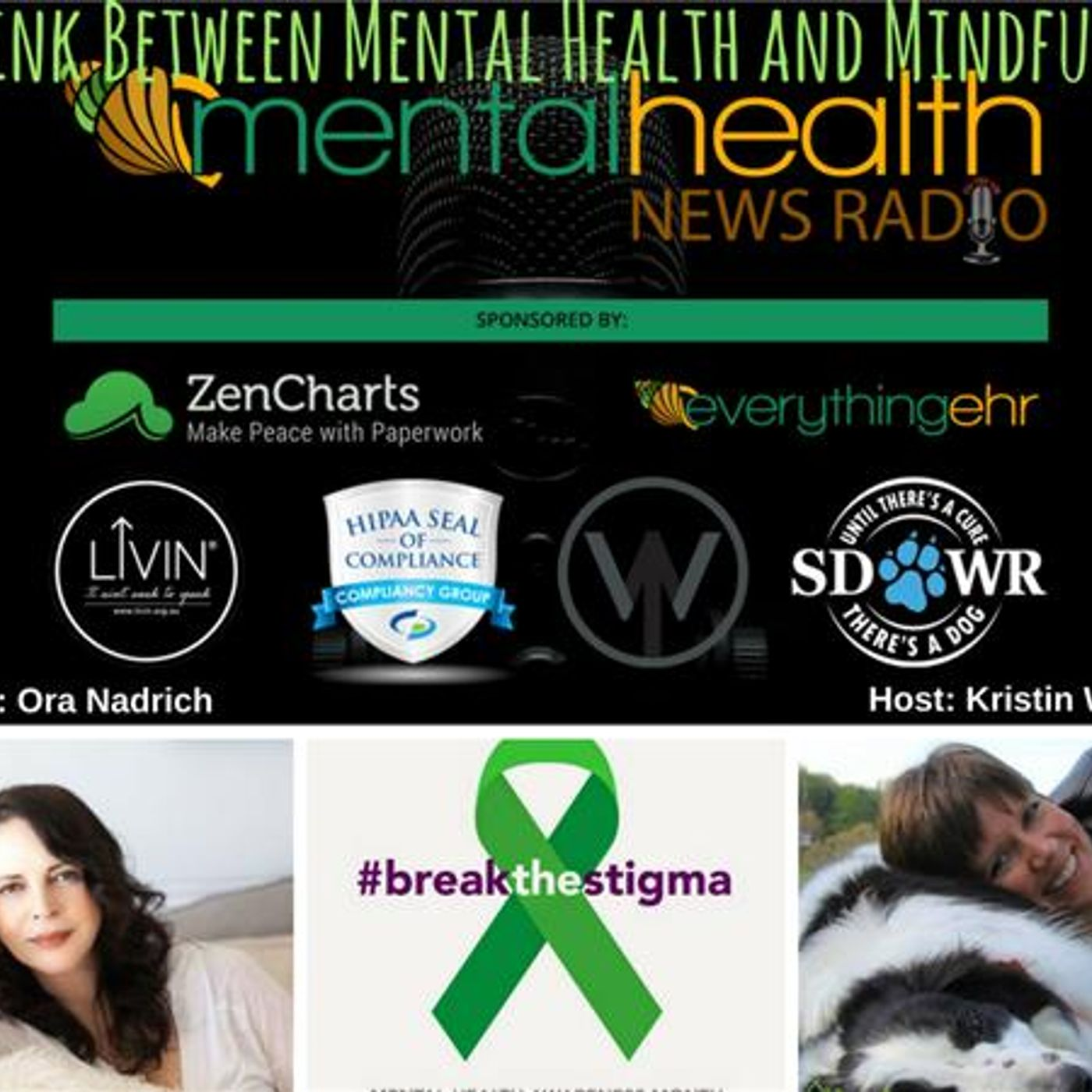 Mental Health News Radio - The Link Between Mental Health and Mindfulness with Ora Nadrich