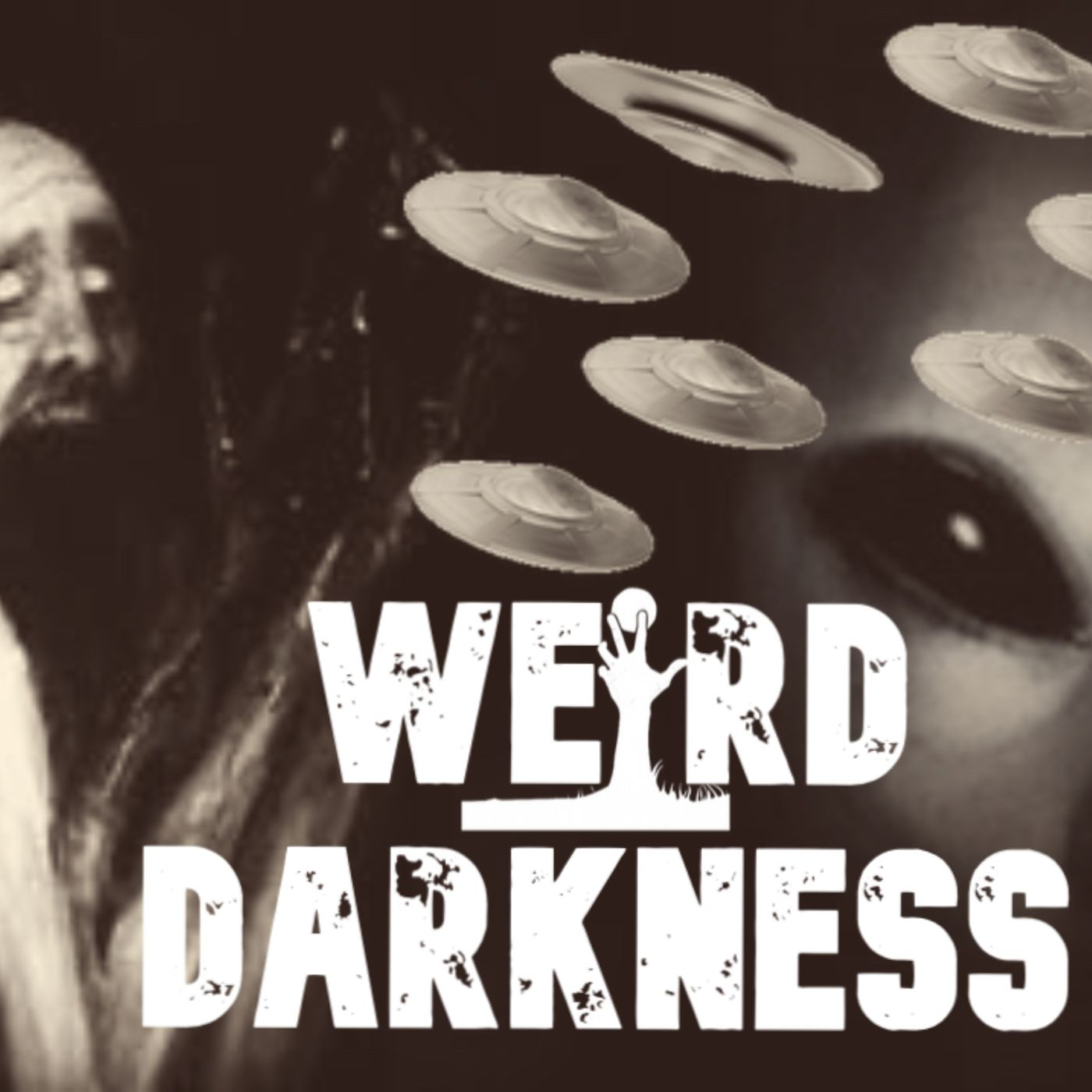 """UFOs AND CREEPY HUMANOIDS"" 4 More Terrifying True Horror Stories! #WeirdDarkness"