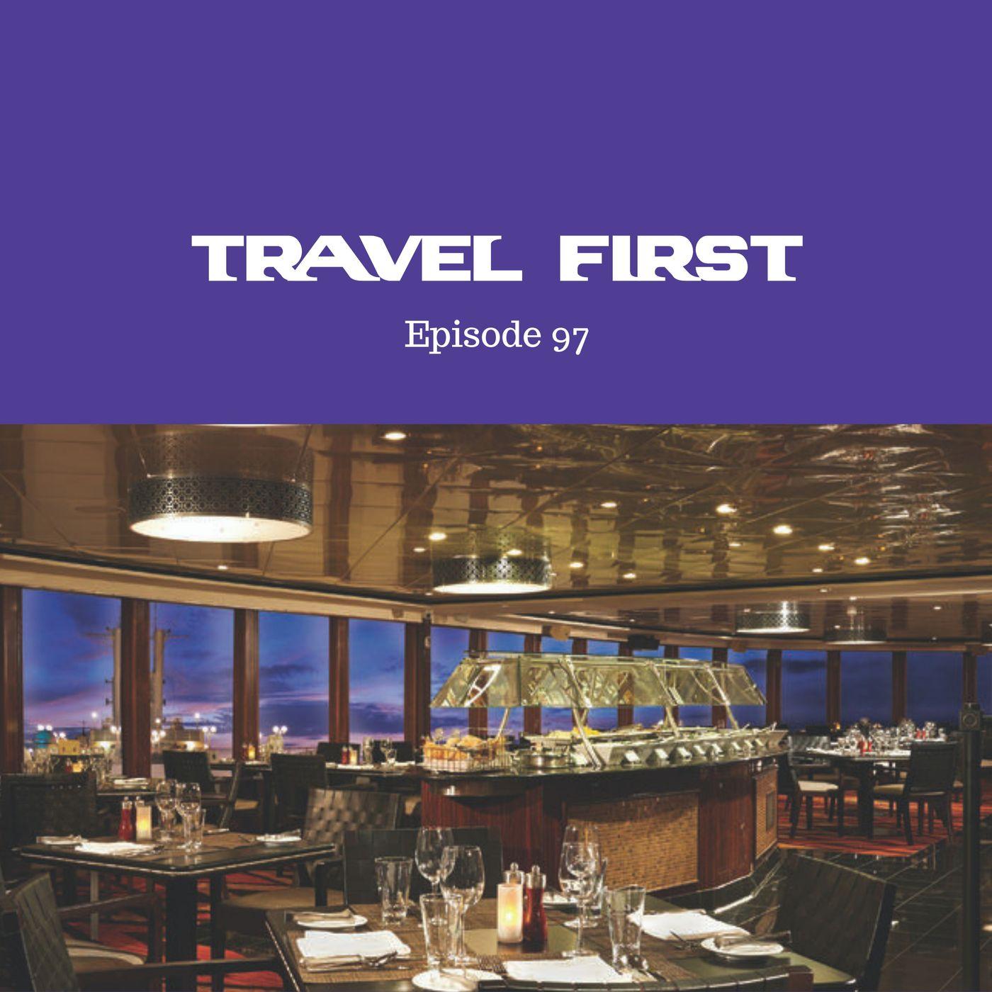 97: Cruising on the Norwegian Jewel Part 3 - The Restaurants & Food