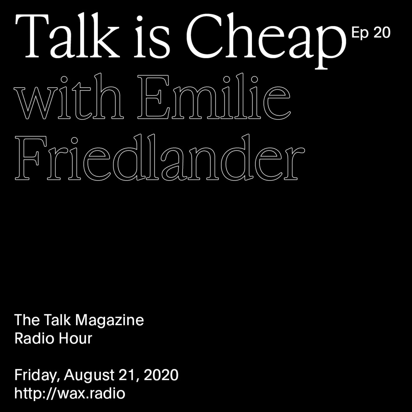Episode 20 with Emilie Friedlander
