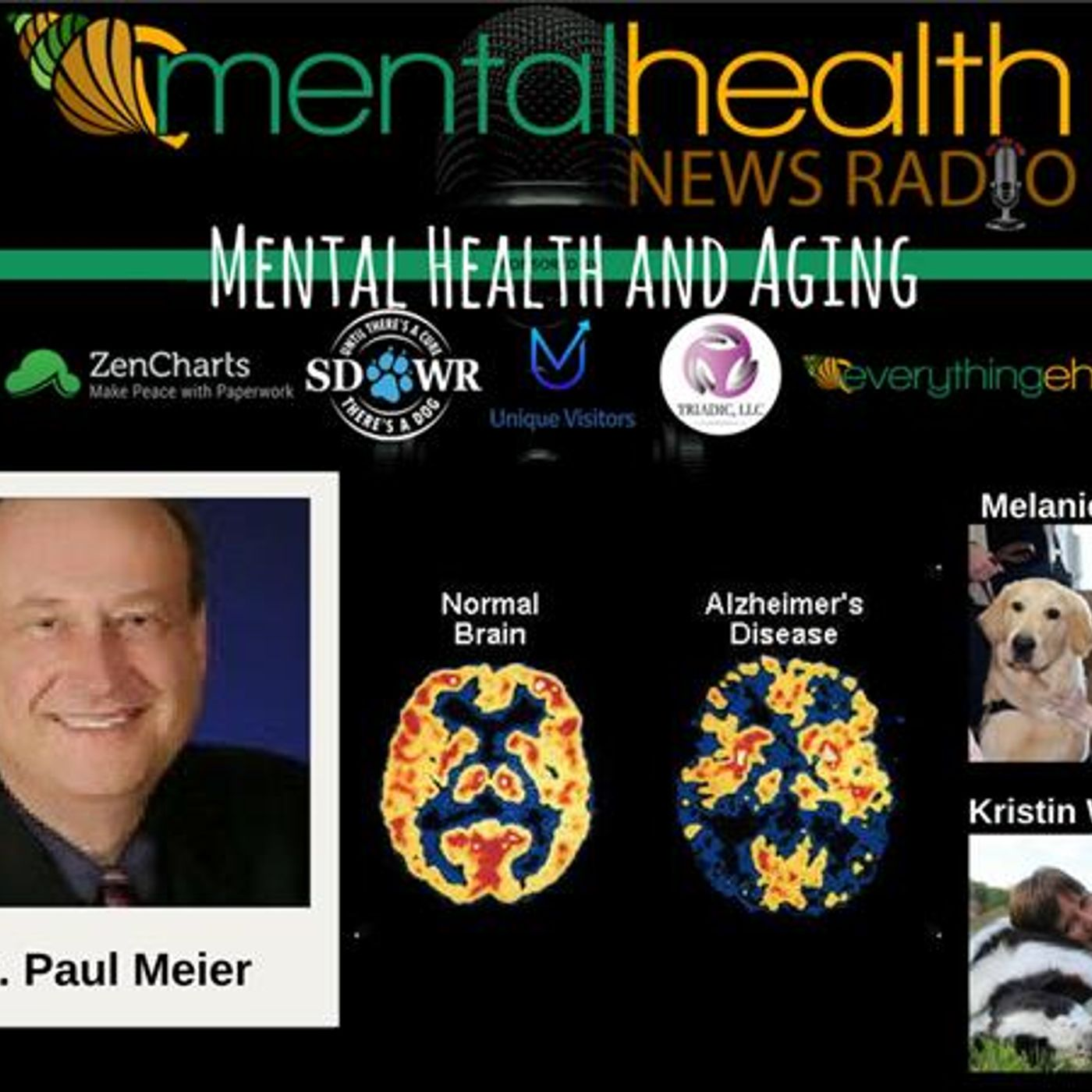 Mental Health News Radio - Round Table Discussions with Dr. Paul Meier: Mental Health and Aging