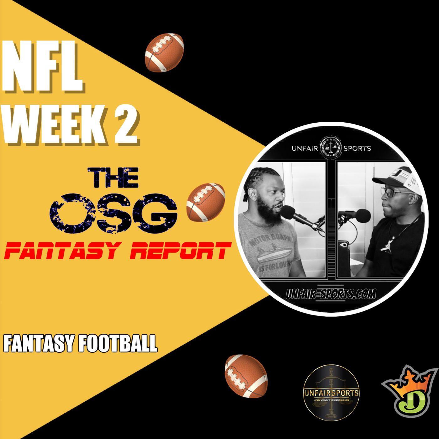 Week 2 OSG Daily Fantasy Highlights