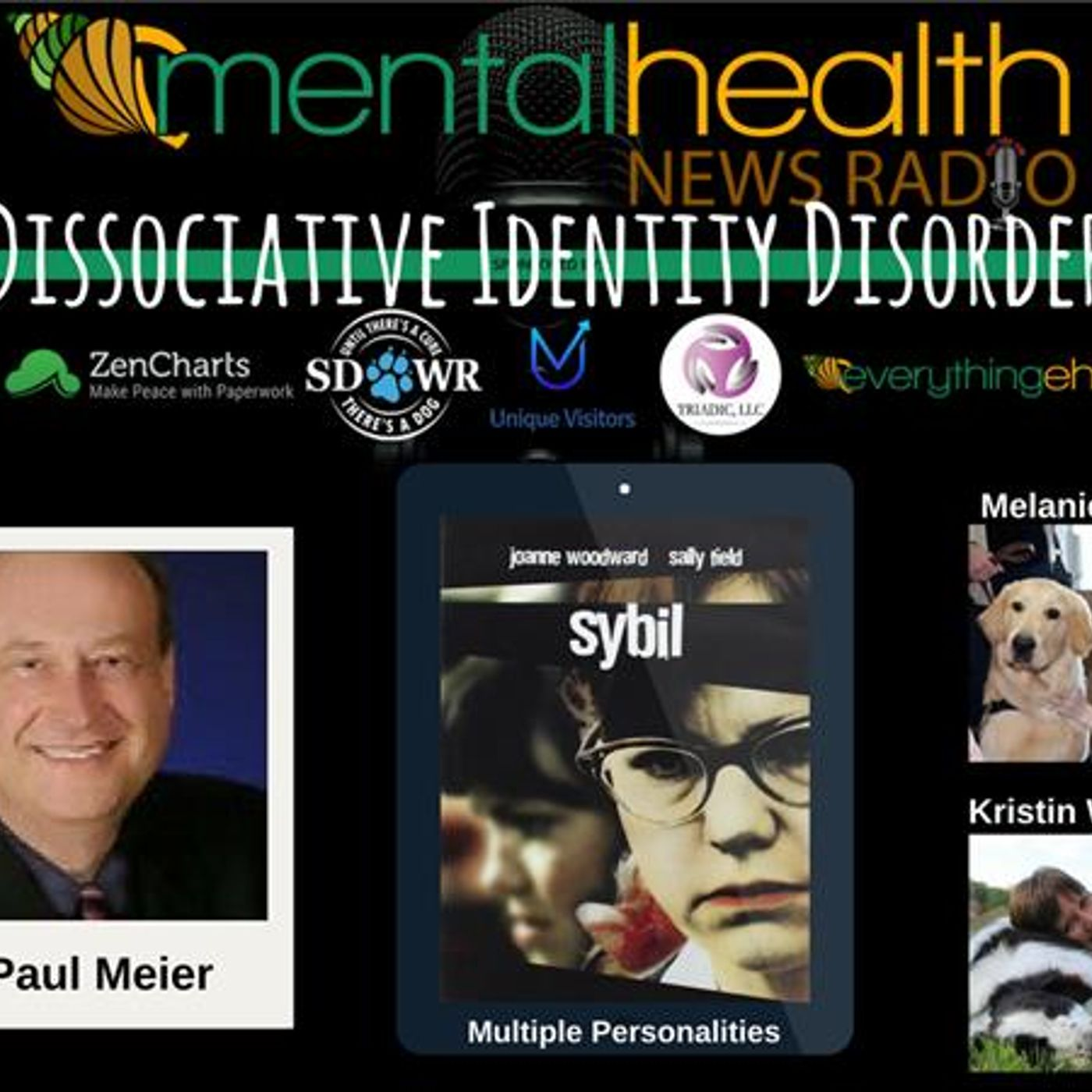 Mental Health News Radio - Round Table Discussions with Dr. Paul Meier: Dissociative Identity Disorder