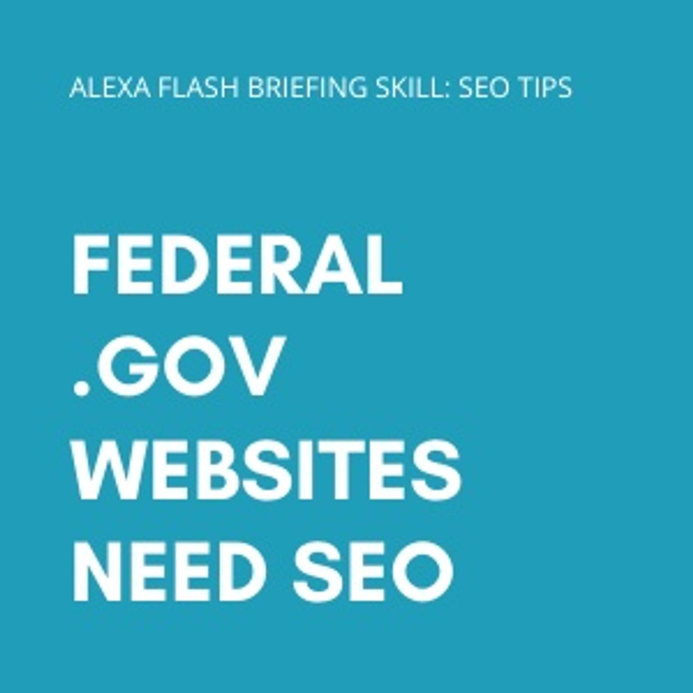 Federal .gov websites need SEO