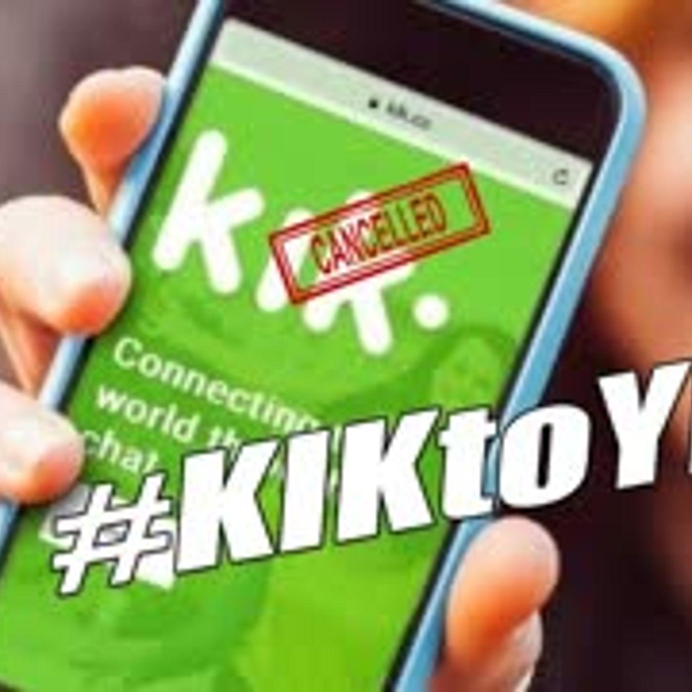 KIN TAKEN OUT BY SEC KIK APP DEAD - We're Here to Help! #KIKtoYEN