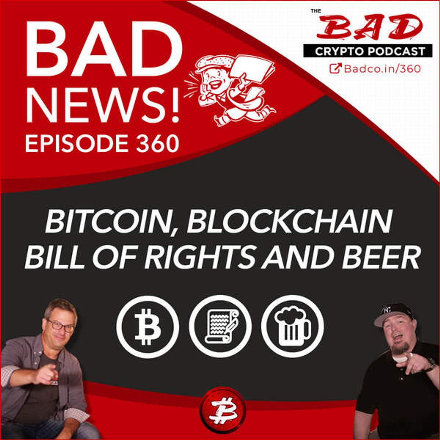 Heartland Newsfeed Podcast Network: The Bad Crypto Podcast (Bitcoin, Blockchain Bill of Rights and Beer - Bad News for 1/23/2020)