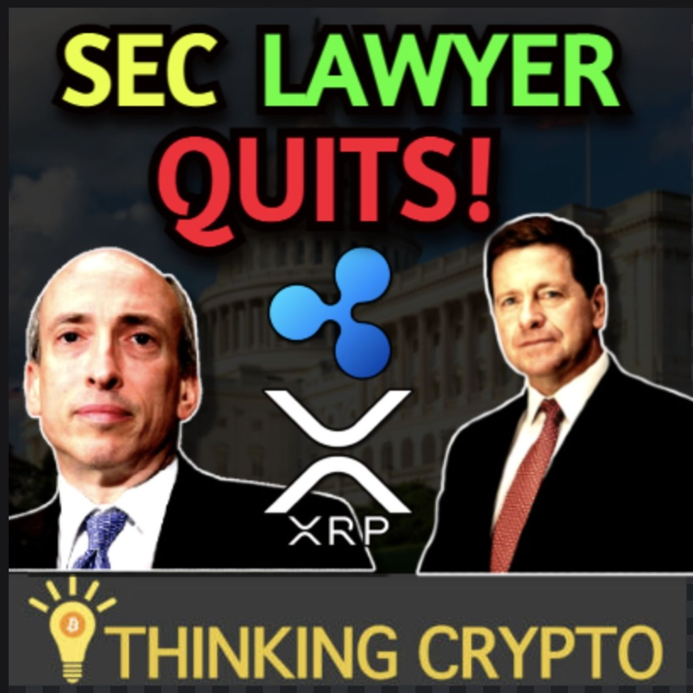 Ripple XRP - SEC Lawyer Quits, Ripple Disrupt, Gary Gensler & Jay ClaytonBitcoin ETF