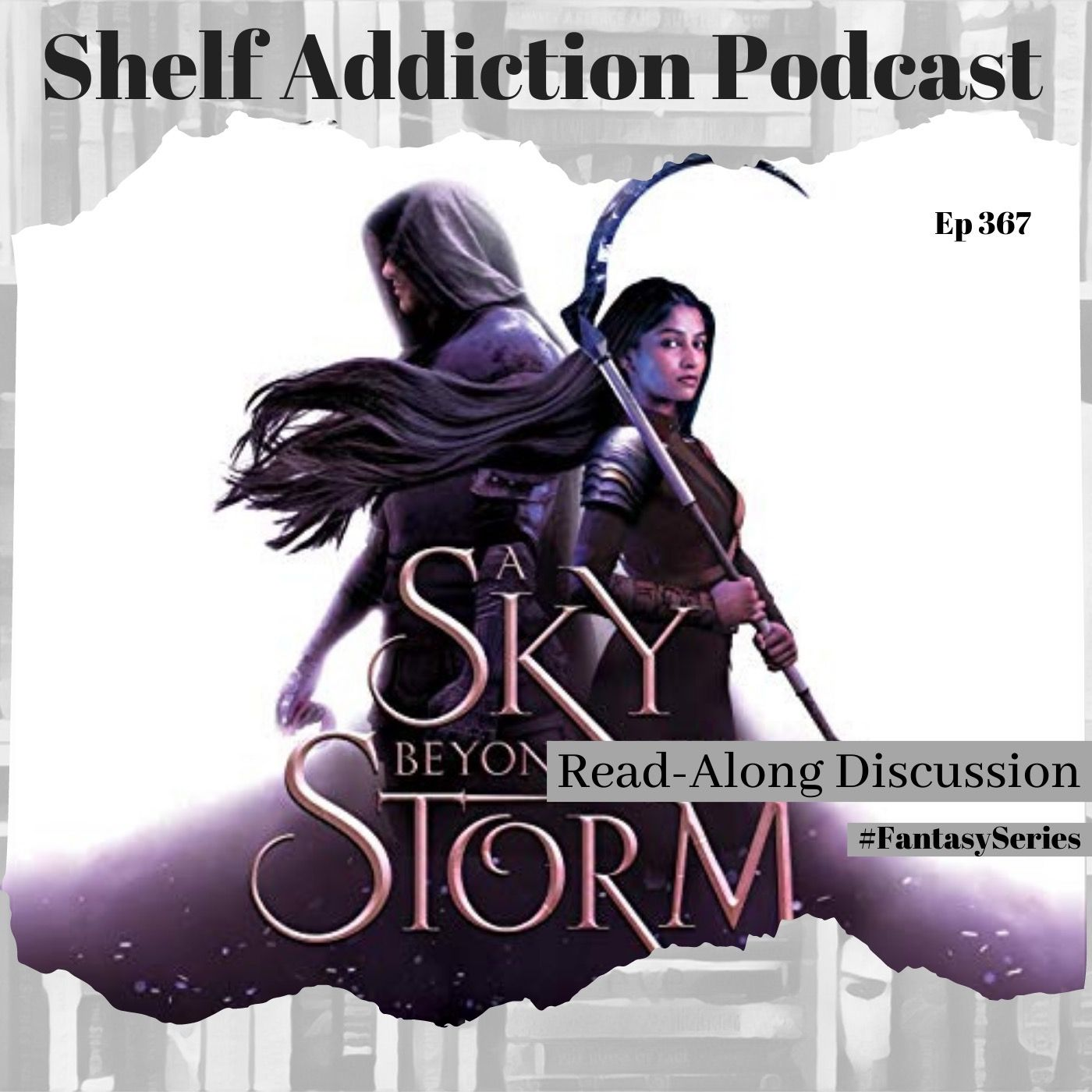#FantasySeries Discussion of A Sky Beyond the Storm (AEITA #4) | Book Chat
