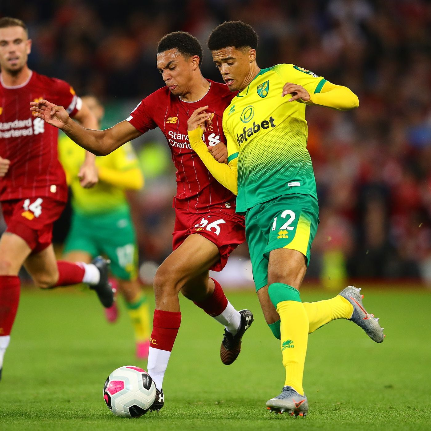 Blood Red: Jamal Lewis transfer latest | Liverpool dominate Premier League awards