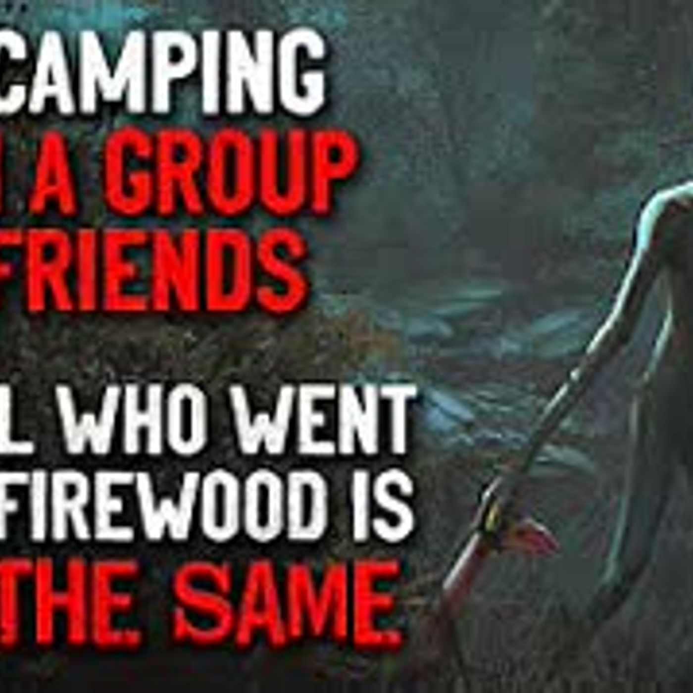 """I'm camping with a group of friends.The girl who left is NOT the same who came back"" Creepypasta"