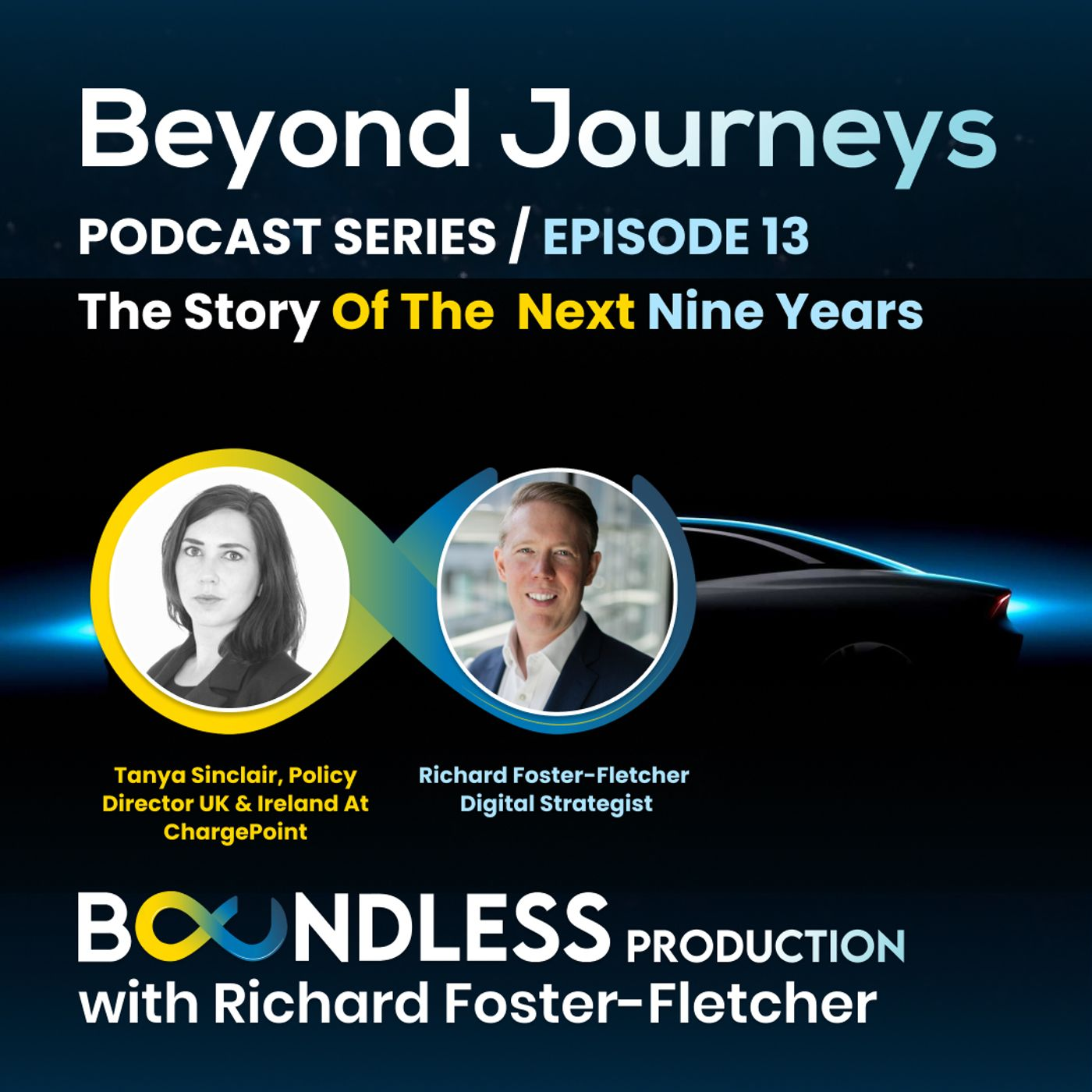 EP13 Beyond Journeys: Tanya Sinclair, Policy Director UK & Ireland at ChargePoint: The story of the next 9 years