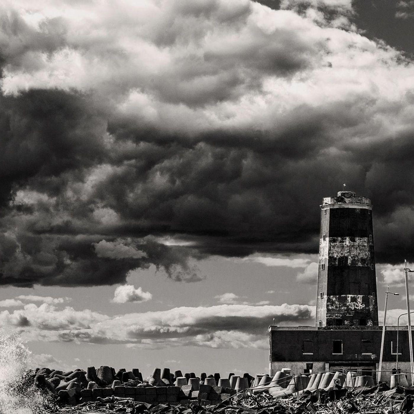 Il vecchio Faro di Fiumicino