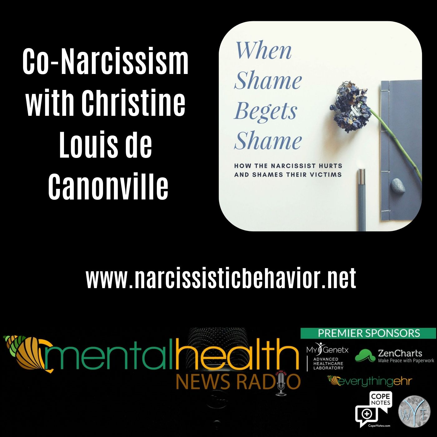 Mental Health News Radio - Co-Narcissism with Christine Louis de Canonville