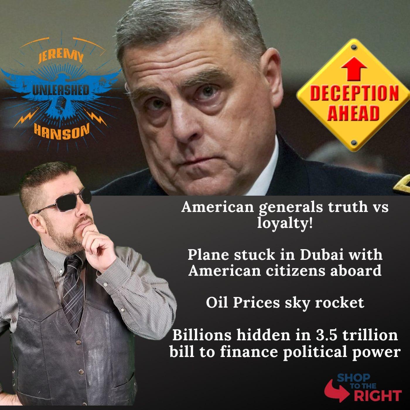 Unleashed Jeremy Hanson 9/29/21  Bombshell 3.5 trillion dollar bill has 90 billion for community organizers and political operatives