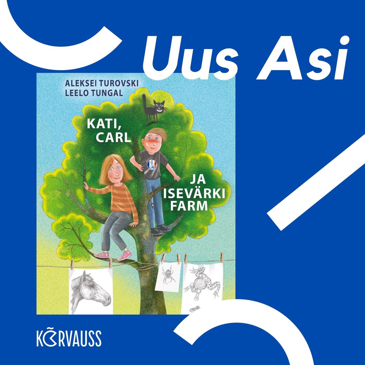 #2 Leelo Tungal ja Aleksei Turovski loomadest ja uuest raamatust