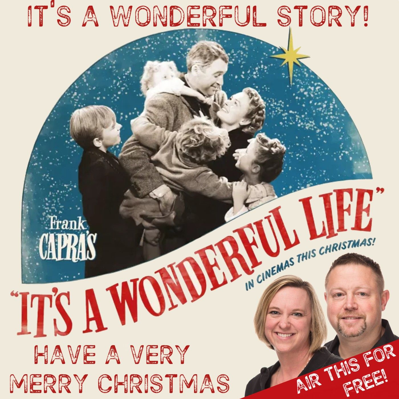 RADIO - The Wonderful Story of Jimmy Stewart and the movie It's A Wonderful Life