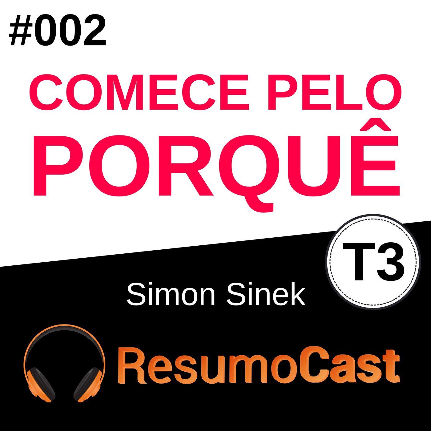 T3#002 Comece pelo porquê | Simon Sinek