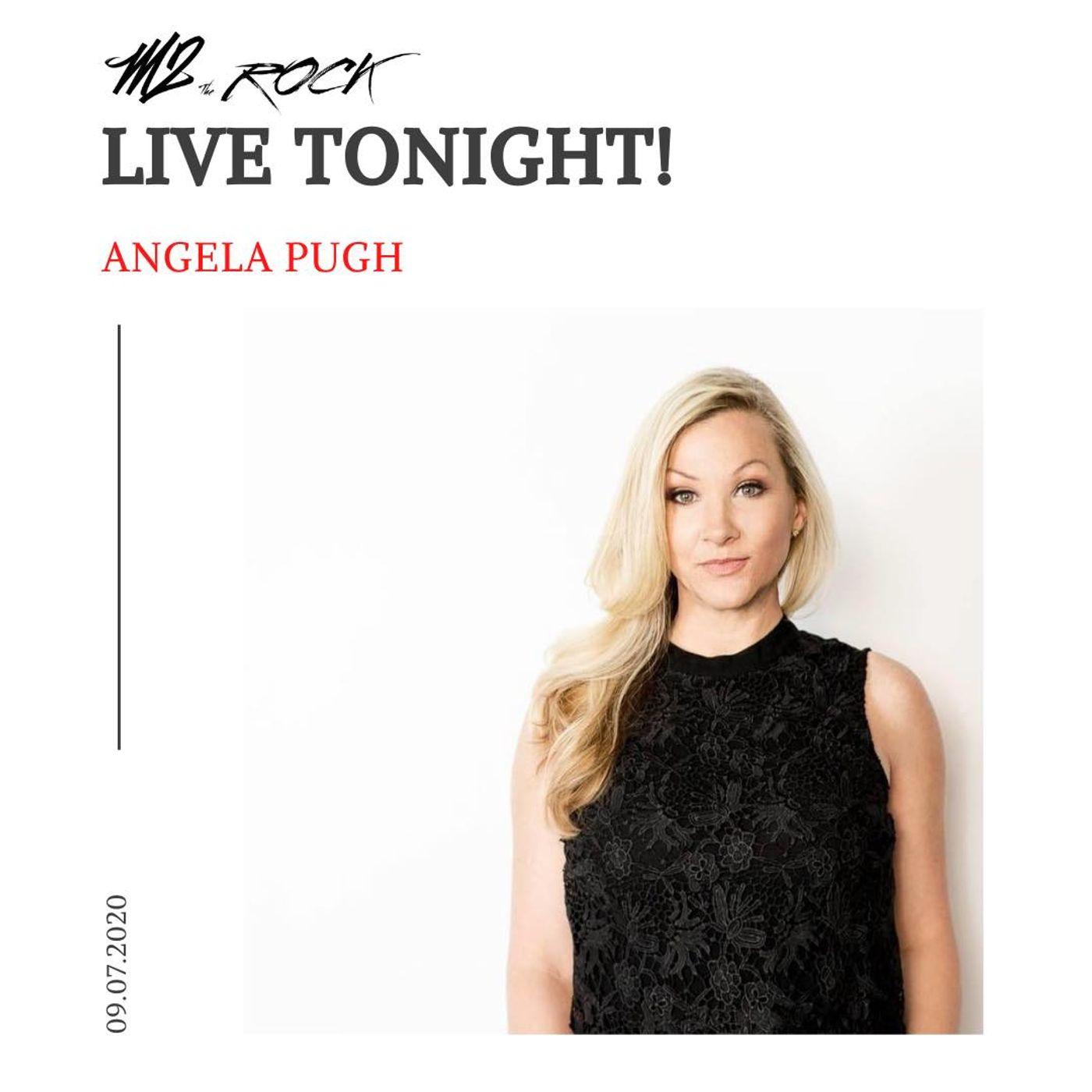 ANGELA PUGH - ADDICTION UNLIMITED LIVE on M2 THE ROCK
