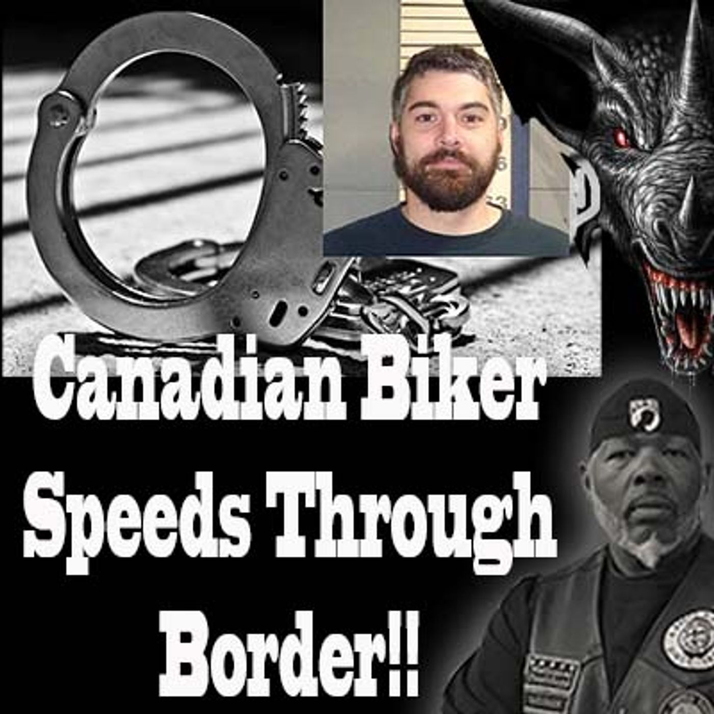 Canadian Biker Speeds Through Houlton Border Without Stopping
