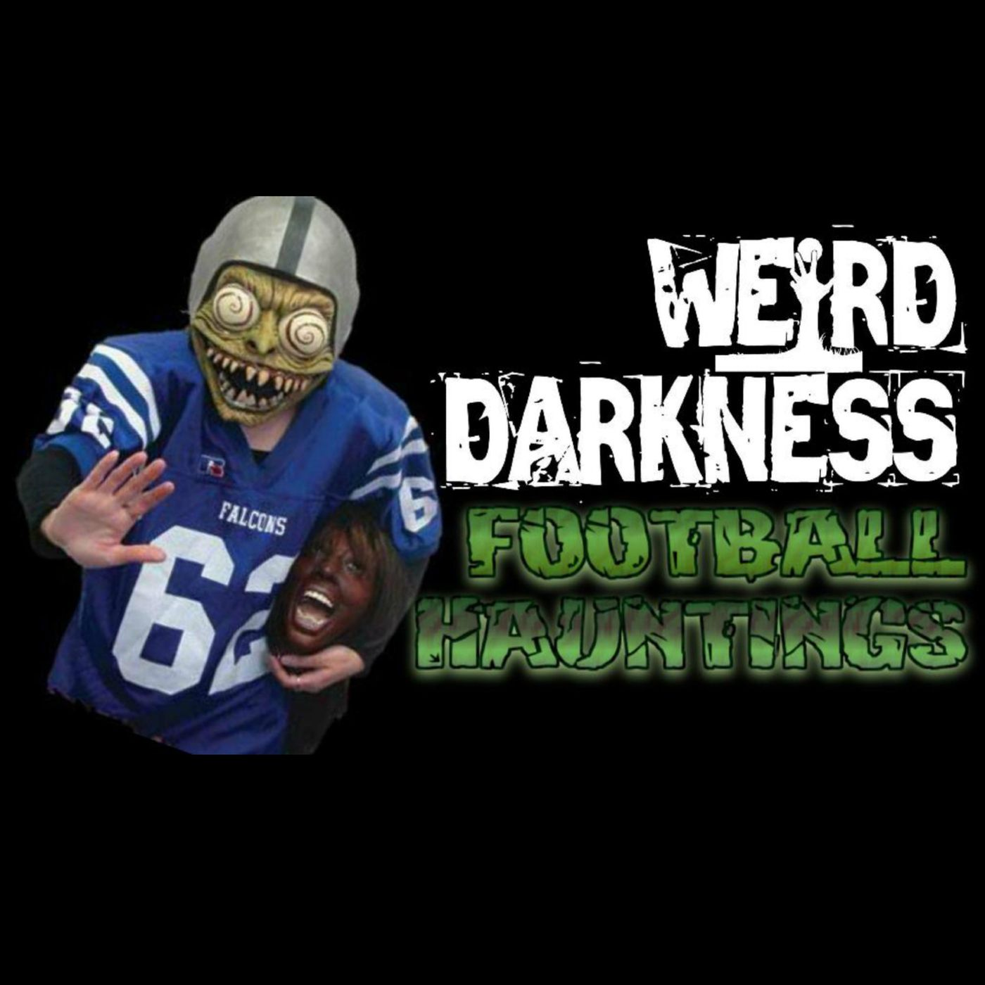 """""""UNSOLVED MURDERS AND FOOTBALL HAUNTINGS"""" #WeirdDarkness"""