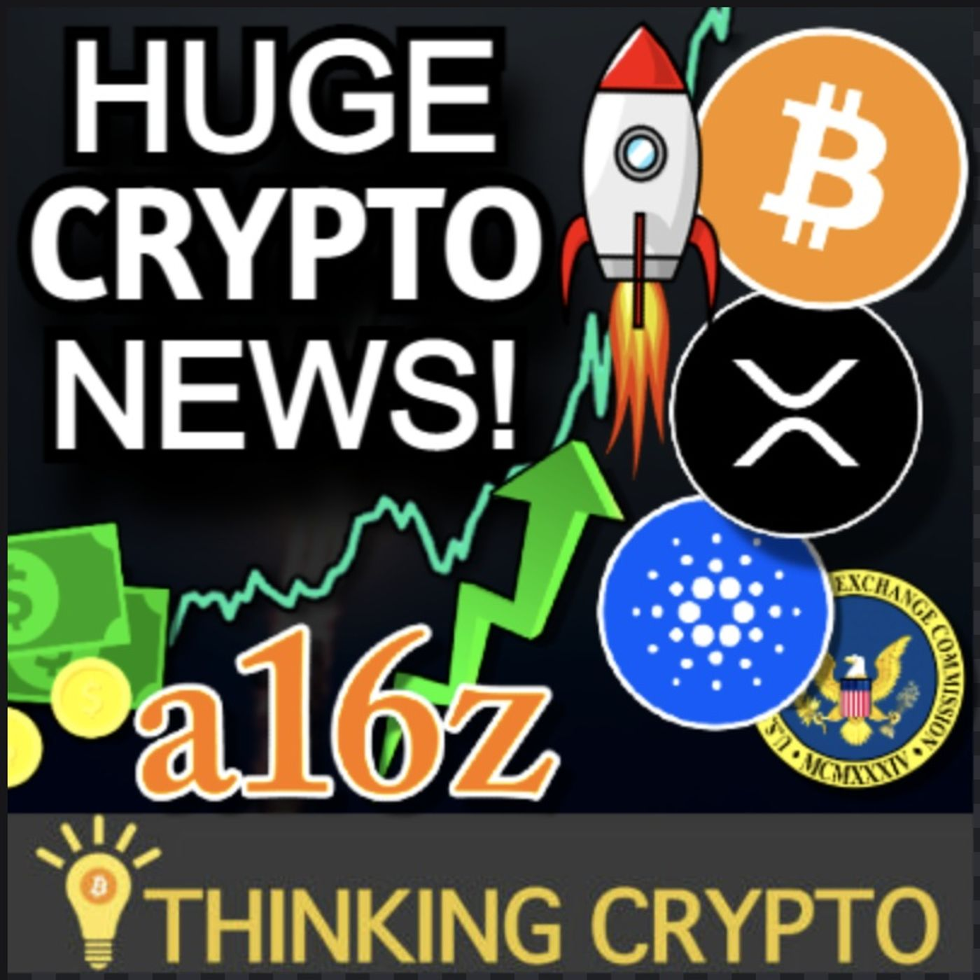 US Leads in BITCOIN Mining - a16z Crypto Regulations - SEC Ripple XRP News