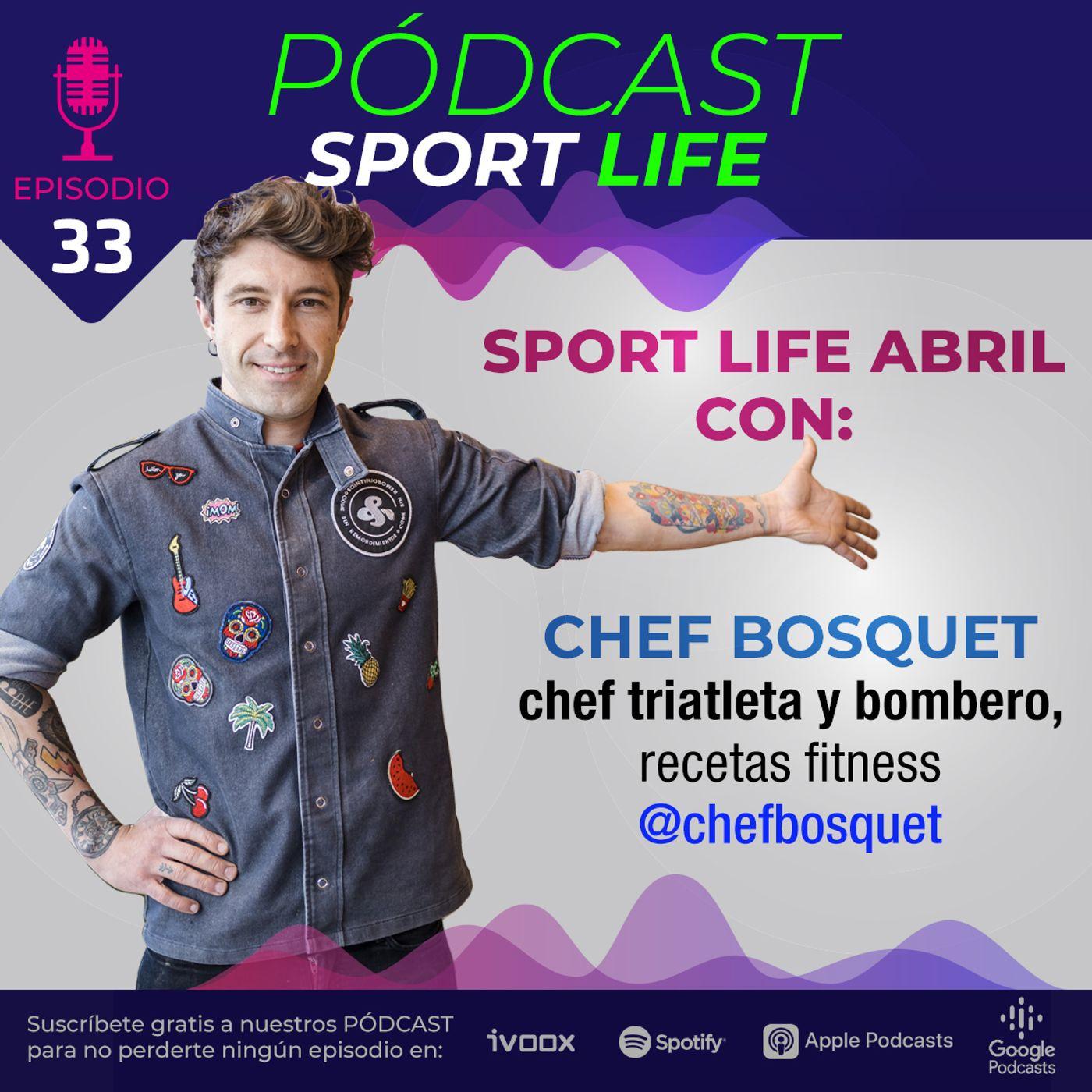 Recetas saludables para deportistas con Chef Bosquet
