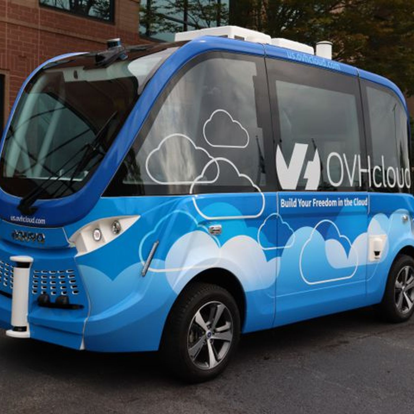 The Driverless Car Is Back In Peachtree Corners