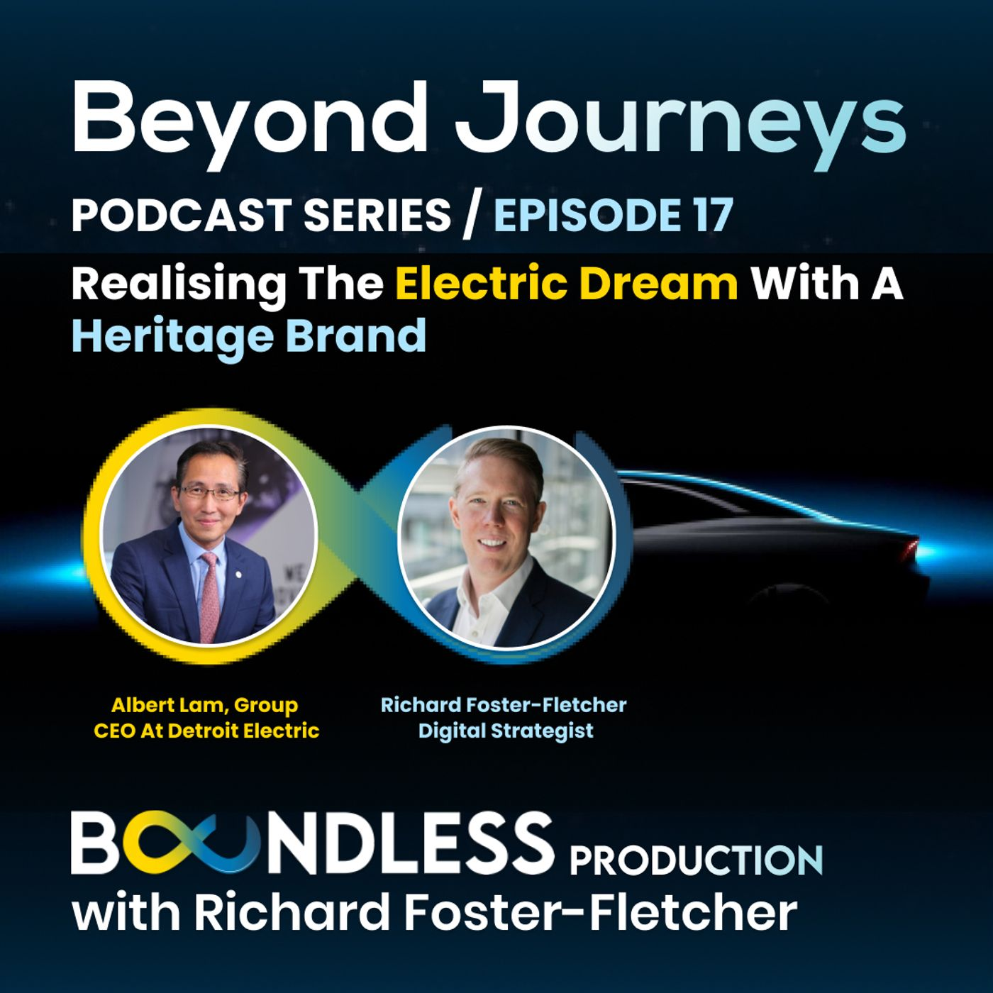 EP17 Beyond Journeys: Albert Lam, Group CEO at Detroit Electric - Realising the electric dream with a heritage brand
