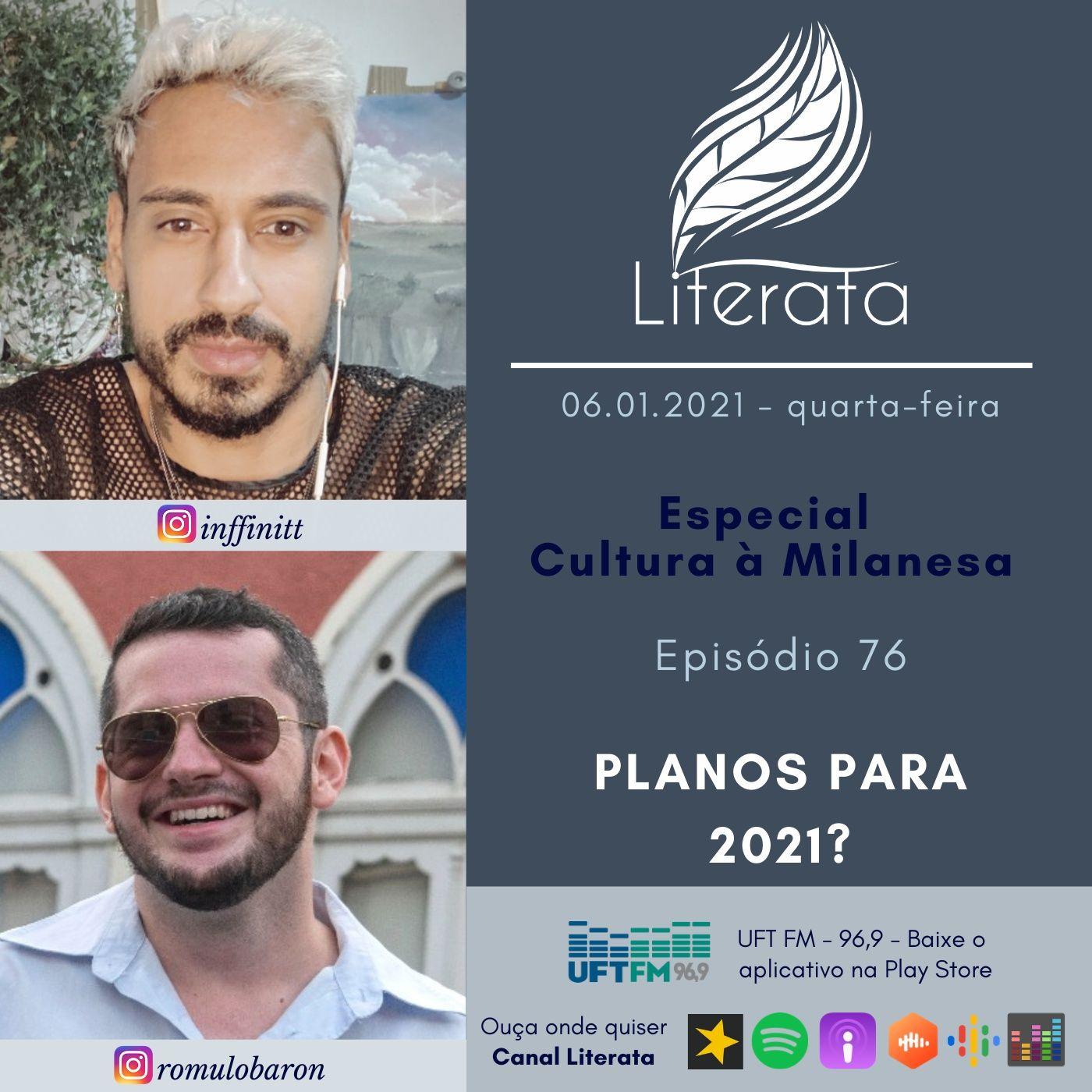 #076 - Planos para 2021 com Cultura à Milanesa