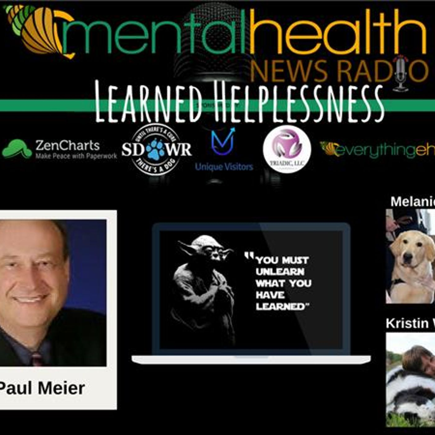 Mental Health News Radio - Round Table Discussions with Dr. Paul Meier: Learned Helplessness