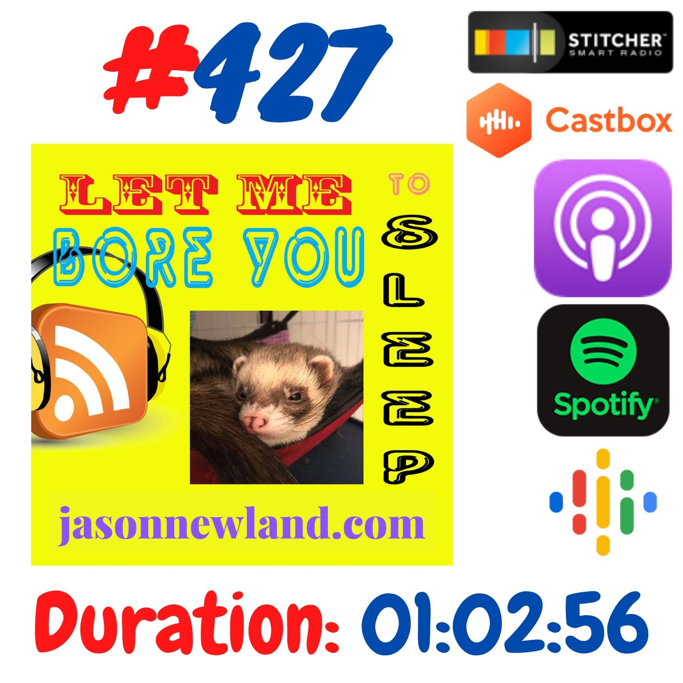 #427 Let me bore you to sleep - Jason Newland (12th June 2020)