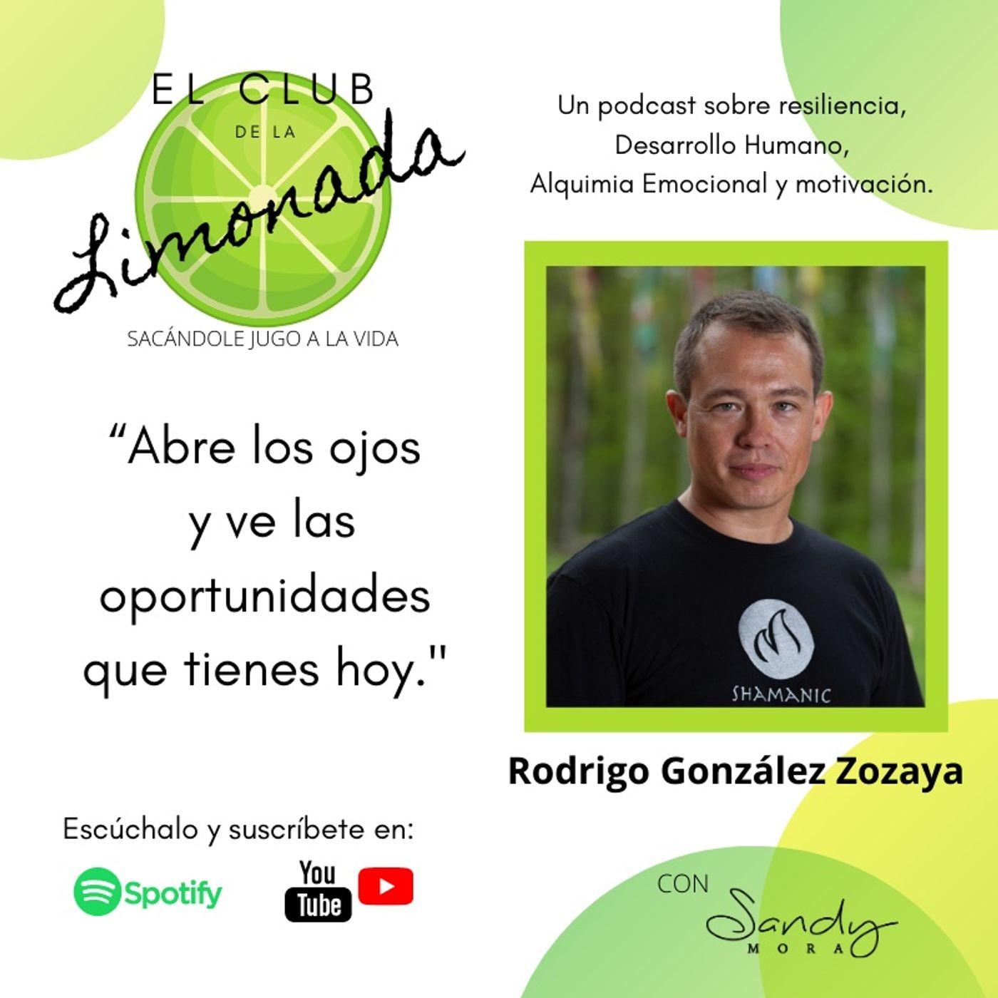 Episodio 41: Rodrigo Gonzalez Zozaya, bailar las emociones para ser más resilientes.