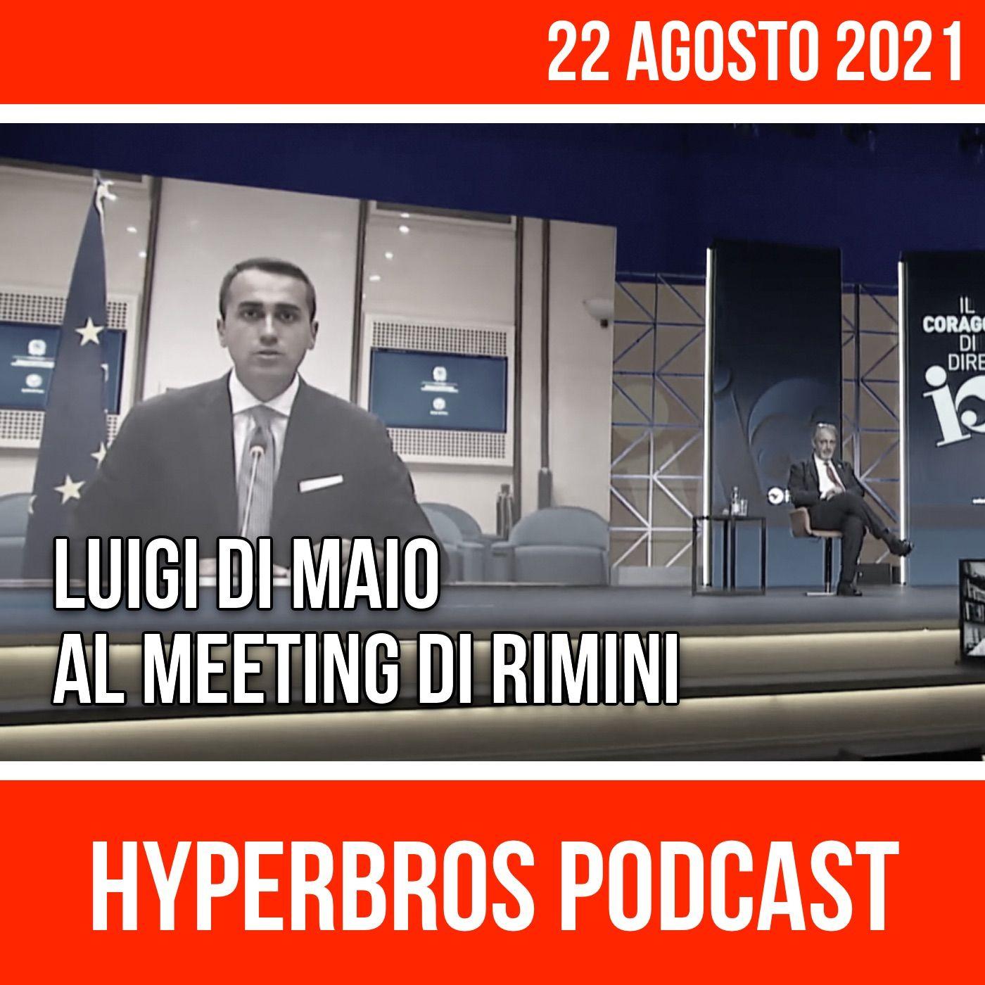 Luigi Di Maio al Meeting di Rimini