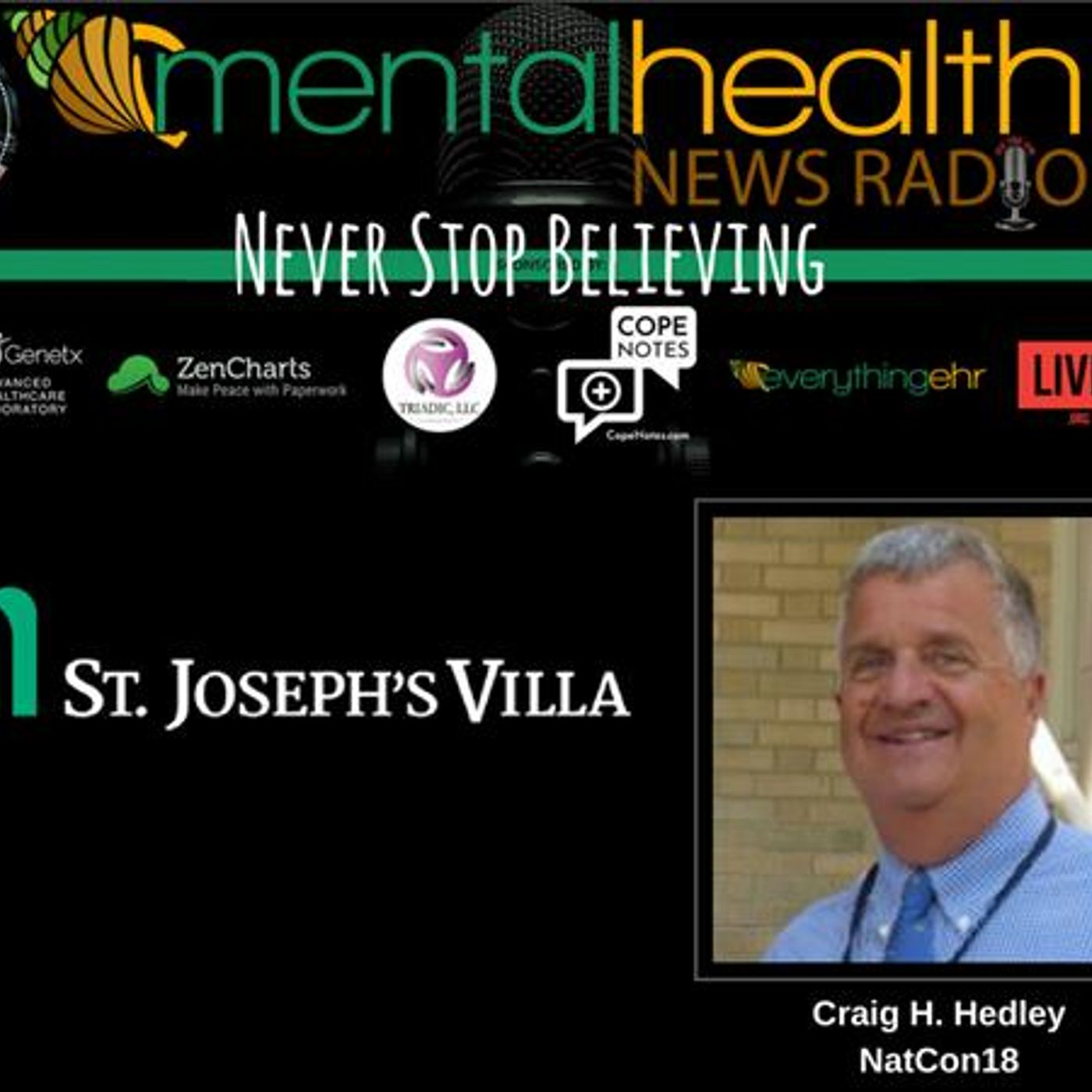 Mental Health News Radio - Never Stop Believing with Craig Hedley