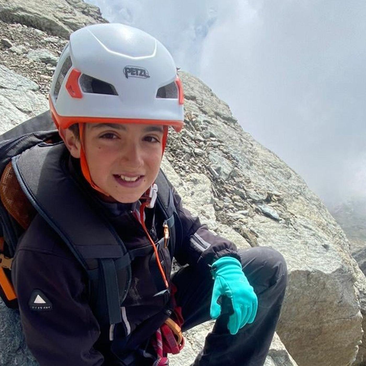 A 11 anni scala il Cervino: l'incredibile storia di Federico