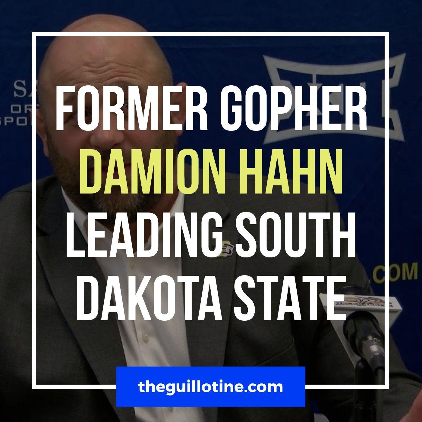 Former Gopher Damion Hahn now leading South Dakota State - GG51